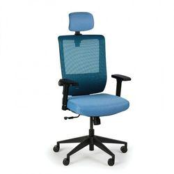 Krzesło biurowe ae, niebieskie marki B2b partner