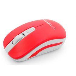Esperanza mysz bezprzewodowa 2.4ghz uranus czerwono/biała (5901299910924)