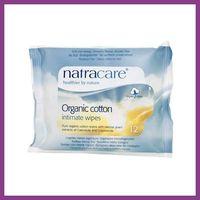 NatraCare Chusteczki do higieny intymnej - 12szt.