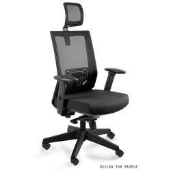 Krzesło obrotowe z zagłówkiem nez marki Unique