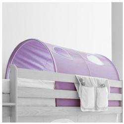 Ticaa tunel do łóżek piętrowych dworek kolor fioletowy od producenta Ticaa kindermöbel
