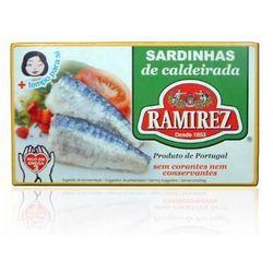 Sardynki portugalskie duszone z warzywami w białym winie 125g Ramirez - sprawdź w wybranym sklepie
