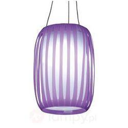 Lampa solarna LED Lilja liliowy