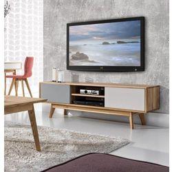 Meble nova Drewniana szafka rtv w stylu skandynawskim stilo