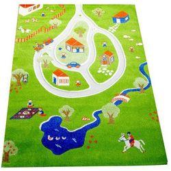 Dywan wioska 3d 100 x 150 cm zielony marki Ivi