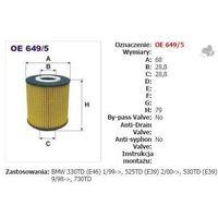 Filtron Filtr oleju oe 649/5, kategoria: filtry oleju