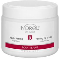 body rejuve body peeling cranberry żurawinowy peeling do ciała (pp177) - 500 ml marki Norel (dr wilsz)