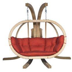 Zestaw: stojak Sintra + fotel Swing Chair Double, terakota Sintra + Swing Chair Double