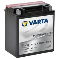 Akumulator motocyklowy Varta YTX16-BS-1 14Ah 210A