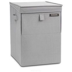 Modułowy pojemnik na pranie Szary 35l Brabantia (8710755109324)