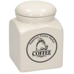 Dekoria Pojemnik na kawę Farmer Market 15cm, 10,5 × 10,5 × 15 cm