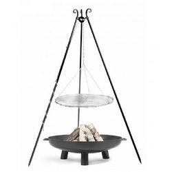 Cookking Grill ogrodowy cook king stal czarna 80 cm + palenisko 80 cm + darmowy transport! (5902280590798)