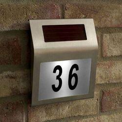 Solarny numer domu - szczegóły w Trampoliny