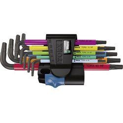 Wera Zestaw kluczy imbusowych 9 szt. multicolour torx 05024179001 (4013288185228)