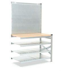 Stół roboczy Transform, 1972/916x1200x600 mm z panelem narzedziowym