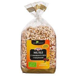 Musli z amarantusem i malinami bio 250g od producenta Eko produkt