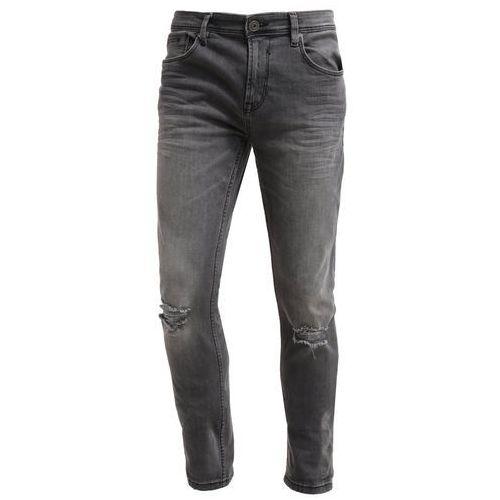 Tom Tailor Denim CULVER Jeansy Slim fit dark stone black denim - oferta [055ddf42b39fa684]