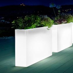 KUBE CASETTA HIGH SLIM donica podświetlana LED