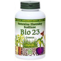 Bio 23 Greens 90kaps - Naturalne Ekstrakty Roślinne