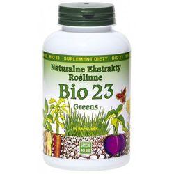 Bio 23 Greens 90kaps - Naturalne Ekstrakty Roślinne - sprawdź w wybranym sklepie