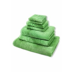 Komplet ręczników Premium (7 części) bonprix zielone jabłuszko