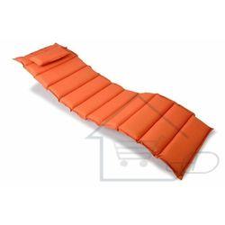 1 Wysokiej jakości poduszka na leżak pomarańczowa 1 segmentów