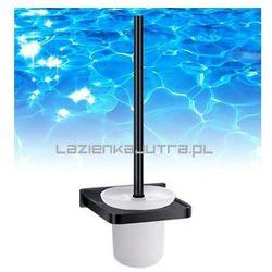 OMNIRES DARLING Szczotka WC, wykończenia czarne DA70620, DA70620
