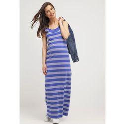 MAMALICIOUS MLTRIBBI Długa sukienka deep ultramarine z kategorii Sukienki ciążowe