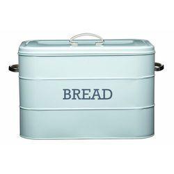 retro chlebak - pojemnik na pieczywo miętowy, marki Kitchen craft