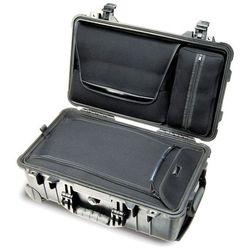Peli 1510 Laptop Overnight Case Pudło czarny 2018 Skrzynie transportowe (0019428080648)