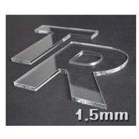 Cięcie Laserem Plexi 1,5mm Na Dowolny Kształt