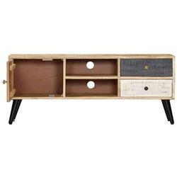 Vidaxl szafka pod tv, 115 x 30 x 47 cm, lite drewno mango (8719883678771)