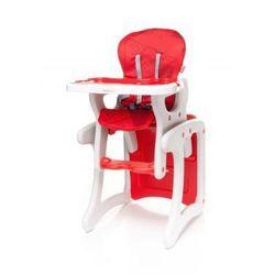 4Baby Fashion krzesełko do karmienia + stolik 2 w 1 red model 2017 - produkt z kategorii- Krzesełka do karmi