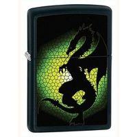 Zapalniczka  tryptych dragon, black matte marki Zippo