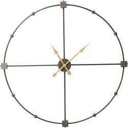 :: zegar ścienny beam Ø105cm - miedziany marki Kare design
