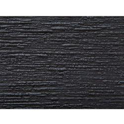 Beliani Doniczka czarna kwadratowa 26 x 26 x 60 cm dion (4260602372479)