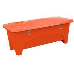 Aj produkty Pojemnik do przechowywania na zewnątrz, 1760x750x745 mm, 475 l, pomarańczowy
