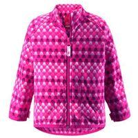 Bluza Polarowa Reima VEMMEL różowa z wzorem