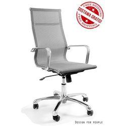 Unique Krzesło obrotowe drafty szary
