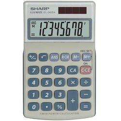 Kalkulator handheld blister el240sab szary marki Sharp