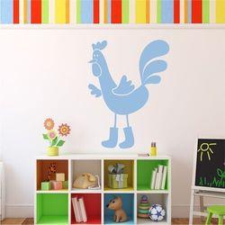 Naklejka na ścianę dla dzieci kogut 2269