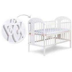 łóżeczko radek vii biały 120x60 marki Klupś