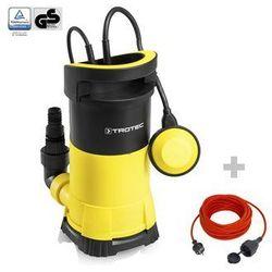 Trotec Pompa zanurzeniowa do wody czystej twp 9005 e + przedłużacz jakościowy 15 m / 230 v / 1,5 mm²