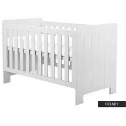 Selsey łóżeczko dziecięce calmo białe tapczanik (5900000046647)