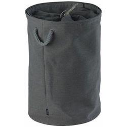 Kosz na pranie colin grey 65 cm marki Aquanova