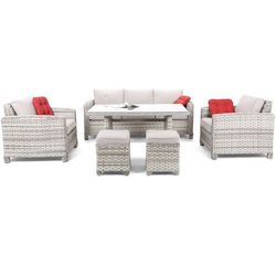 Zestaw mebli Montana Light Grey / Light Grey Home&Garden (392246)