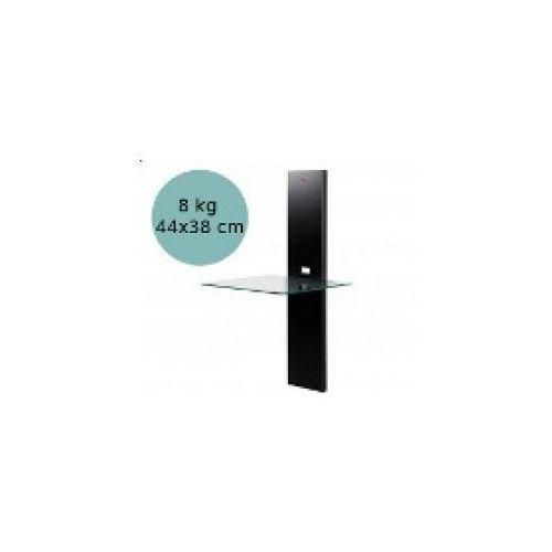 Multimebel P110 - panel cienny z płk, czarny - produkt z kategorii- półki rtv