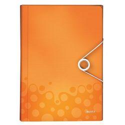 Teczka harmonijkowa Leitz Wow 6 przegródek, 4589 pomarańczowa, kup u jednego z partnerów