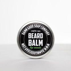 Balsam do brody - beard balm the woods -  od producenta Damn good soap