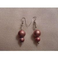 K-00158 Kolczyki z różowymi perłami, 04-06-12